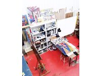 Shared Space in an Art Studio at Clapham Junction