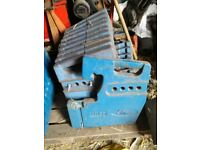 Ford tractor weights 20 in total plus a weight block £550 or nearest