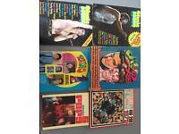 1960 1979s pop music scene books magazines records LPs Bowie jagger Levi's