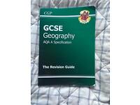 Geography revision book AQA GCSE