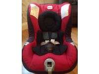 Britax Römer First Class Plus Rear / Front Facing Car Seat - Chilli Pepper Red - Birth-4 Years - VGC