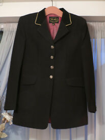 Ladies Navy Blue Riding Jacket 38in - Gallop brand