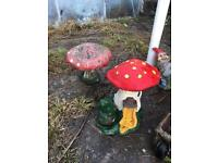 Collection of Vintage Garden Gnomes