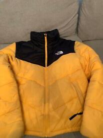 North face Saikuru Yellow Puffer Jacket