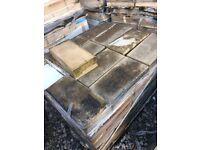 6 packs of Ashlar Buff Masonry Blocks