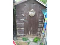 Free 8x6 shed. Tongue/groove. Collectoe must dismantle/takeaway. No rot. Must go by monday