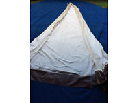 14ft White complete tipi (perfect for the kids)