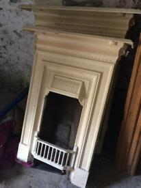 2 complete and Matching Period Fireplaces