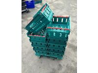 ***SPECIAL OFFER PRICE*** 20 X Bail Arm Crates Storage Stacking Boxes Bargain!!