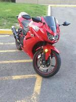 Upgraded Red Ninja 250r