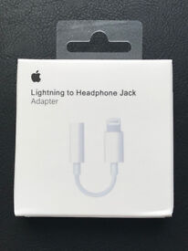 Apple Lightning to 3.5mm Headphone Jack Adapter For iphone 7,7plus, 8, 8plus, X