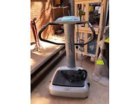 Power fit massage vibrating machine