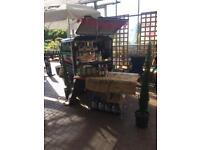 Piaggio ape tm 50 coffee trailer, catering trailer
