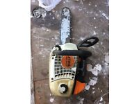 Top handle stihl solid chainsaw MS 201t