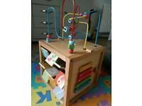 Early Learning centre multi activity cube