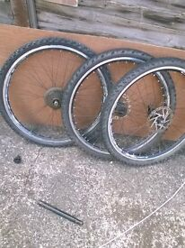 bikes wheels