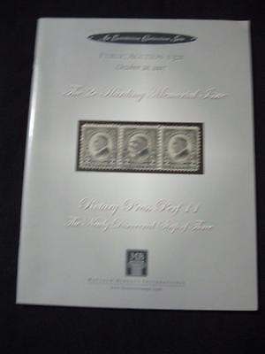 MATTHEW BENNETT AUCTION CATALOGUE 2007 2c HARDING MEMORIAL ISSUE ROTARY PRESS