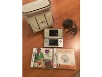 Nintendo DS Lite and two games