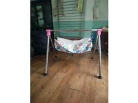 Indian style cradle (godhyu) for 0-3yrs