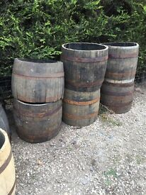 Oak barrel whisky middles