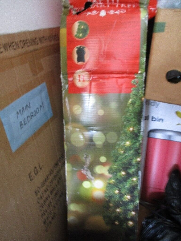 various colors 237d8 21cec TESCO 4FT PRE-LIT TOPIARY/CHRISTMAS TREE - MOVING ABROAD - GET IT CHEAP! |  in Newport | Gumtree