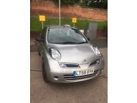 NISSAN MICRA 59 PLATE FULL HISTORY AND VERY LOW MILEAGE ONLY 12,000