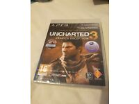 Uncharted 3 GOTY Edition (PS3) (New and sealed)