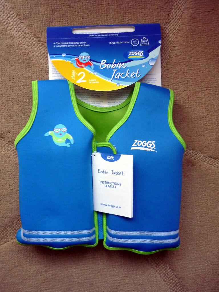 ZOGGY Bobin Size age 4-5 Max 25kgs - Child Flotation Jacket