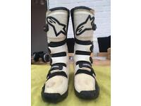 Alpinestars motocross boots size 10