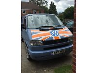 VW T4 camper/day van in good condition for the year. Mechanically sound.
