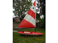 Topper sailing dinghy for sale