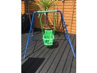 Unisex baby outdoor swing