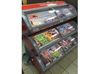 Walls 3 tier LED ice cream freezer