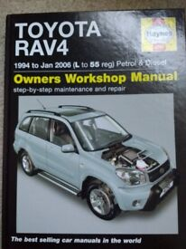 Toyota RAV4 Owners Workshop Manual (Hardback) 2008