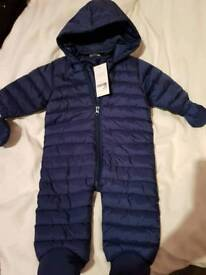 Baby's pramsuit 3-6 months