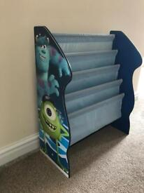Monsters inc bookcase