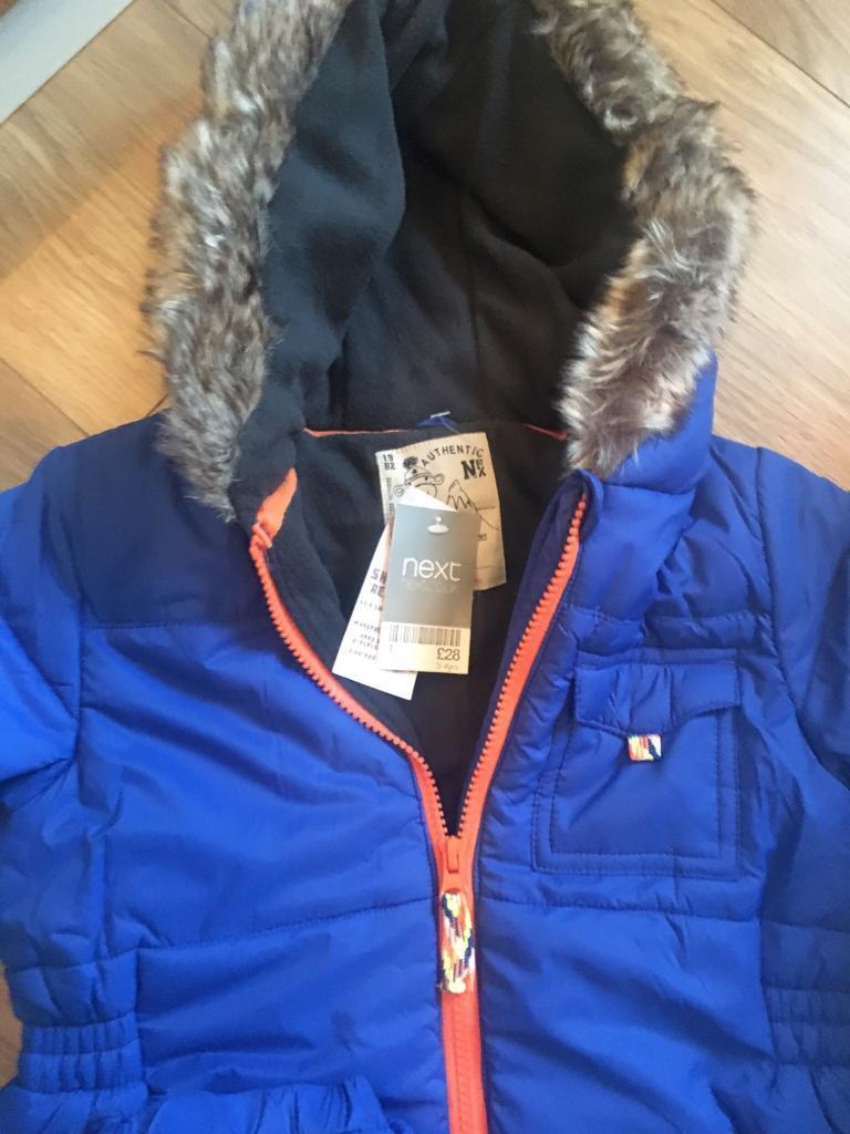 Next Snow Suit new with tags