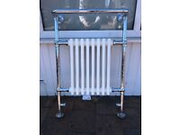 Traditional rad with towel rail