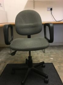 Desk Office Chair Grey