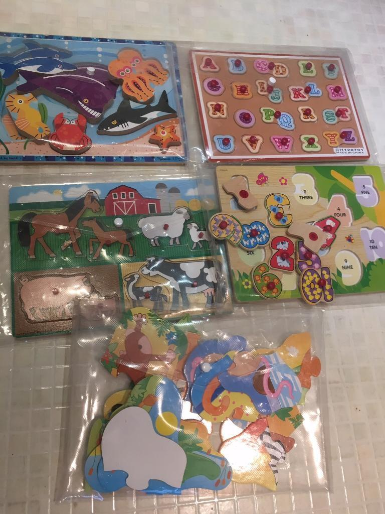Baby and toddler puzzles