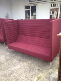 2 matching booth sofas made by giuliomarelli
