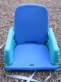 Folding Booster Seat with Tray Table - Good Condition