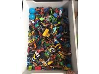 Big bundle of toy cars