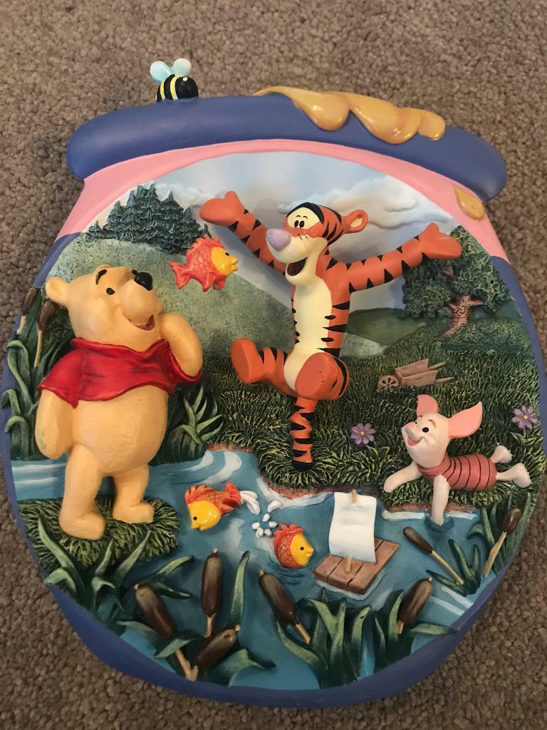 Winnie the Pooh 3D Collectors Plate Bradford Exchange