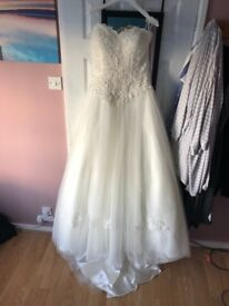 Sincerity wedding dress - brand new size 12