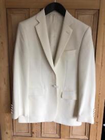 Men's single breast dinner jacket