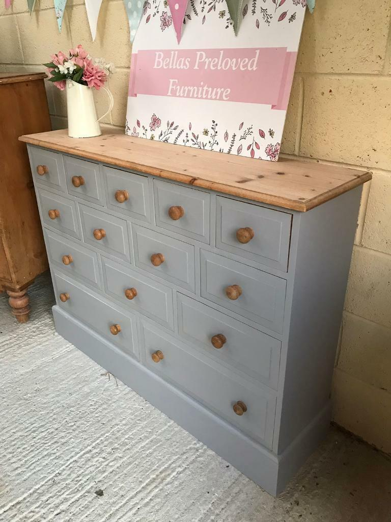 brand new 099fe 6e1d5 Stunning solid wood merchants chest / sideboard | in Truro, Cornwall |  Gumtree