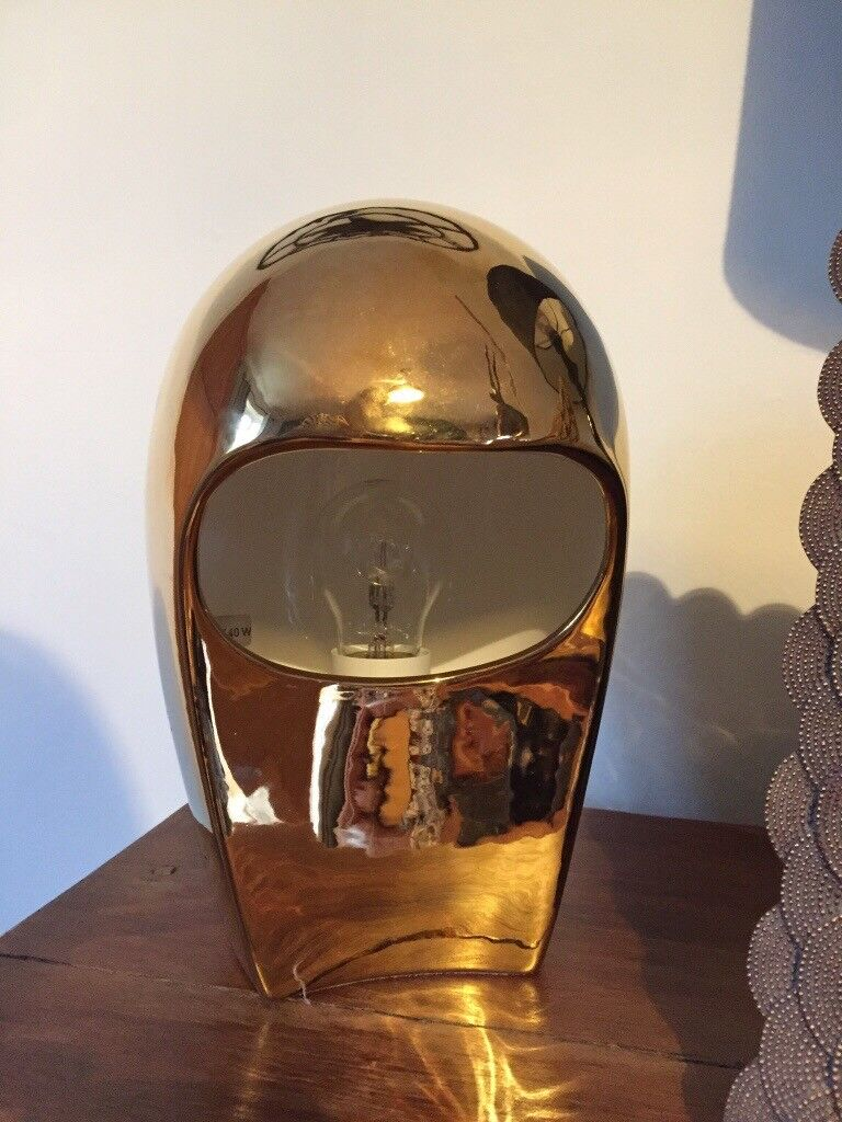 Limited edition gold habitat desk lamp