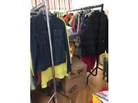 MASSIVE LOT OF DESIGNER CLOTHES&SHOES JOB LOT EBAY CAR BOOT