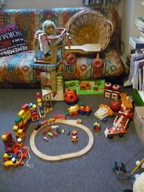Toy bundle with creative play construction and action activities some vintage (offers accepted)